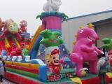 广场新款儿童充气城堡价格 充气气包生产厂家