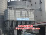 合理构造合理安装荣祥钢板饲料仓保鲜仓储环境