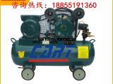 老式手拉装潢打气泵活塞式空气压缩机工厂