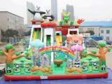公园摆放的儿童充气气包哪里有卖 儿童充气城堡蹦蹦床厂家