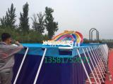 大型移动水上乐园充气水池 超大泳池儿童加厚泳池