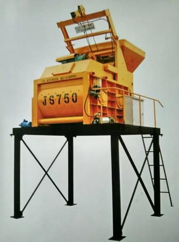 混凝土搅拌机js750