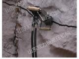 山东泰安液压岩石分裂机电动型劈裂机岩石开采准用设备