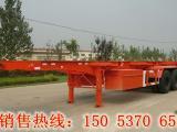 40英尺骨架式集装箱运输车-尺寸-出口价格