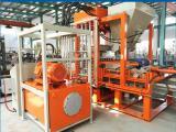 爱普机械供应QT4生态草坪砖免烧砖机
