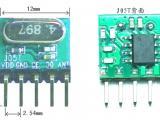 低功耗 小体积 超外差无线接收模块  J05T