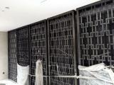 双层不锈钢青古铜屏风制作流程