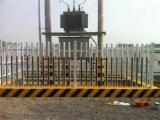 定做PVC变压器围栏 电力塑钢围栏 玻璃钢箱变护栏