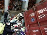 上海库存服装销毁单位,上海整批服装鞋帽焚烧,浦东女装男装焚烧
