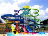 水上乐园设备供应大型水上游乐设施水上滑梯设备螺旋组合滑梯