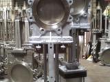 气动穿透式闸板阀