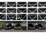 厂家供应六层升降横移停车设备
