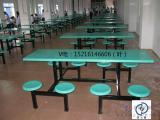 赣州快餐桌椅食堂快餐桌椅食堂餐桌八位圆凳餐桌【赣州永固】