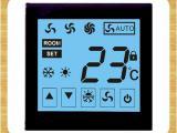 供应合业 调温开关 客房温控器 电容式触摸屏