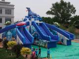 移动水上乐园设备采购怪兽滑梯