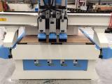 5+4排钻板式家具开料机 双工序木工开料机