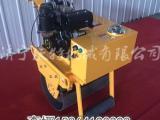 质量极好 沃特手扶式单钢轮轧道机 小型回填土压实机价格