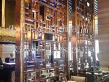新款中式幕墙花格隔断装饰金属仿古镂空花格屏风工艺制品厂家定制