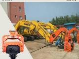 挖掘机打水泥管桩设备-东奕机械震动打桩锤