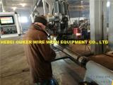 国产欧科焊网机,纯圆石油绕丝筛管加工设备,筛管机