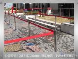 工厂特殊区域隔离伸缩栏杆座  伸缩一米线大全