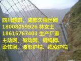 被动防护网厂家(rxi环形RX菱形)耐腐蚀高镀锌