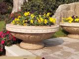 城市雕塑惠安石雕花钵的作用介绍和选择方法-古石厚石雕