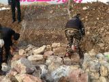 水利铅丝石笼编织方法/格宾网石笼护坡