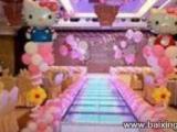 昆山太仓满月周岁百日宴十周岁生日宴气球布置较低价