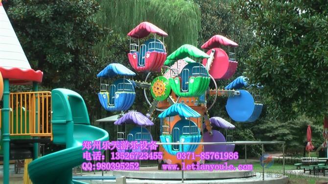 户外大型游乐设备儿童单面观览车 小型摩天轮