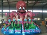 大型章鱼转盘游乐设备美观耐用 万达游乐设备休声风誉