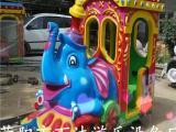 超级火爆的广场大象火车 万达儿童游乐设备超群出众