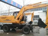 供应恒特150-8轮式挖掘机