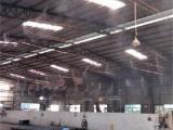 注塑车间机械厂喷雾降温设备 铸造厂微细雾化喷雾除尘降尘系统