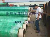 钢套钢玻璃岩棉保温钢管厂家