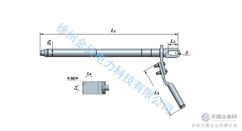 碳纤维复合芯导线耐张线夹