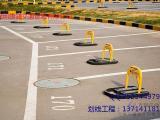 厂区小区划线_停车场车位划线_工业园通道划线