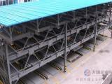 六层升降横移停车设备安装 大型立体车库设备安装价格