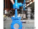手动涡轮浆液阀、涡轮传动刀型闸阀
