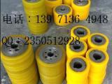 供应武汉设备用聚氨酯包胶轮,加工包胶定做,滚轮包胶