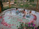 景至蓝水上乐园设备温泉SPA设备JZL-WCC002.温泉池