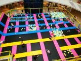 美式蹦床 欧美设计 室内游乐场 蜘蛛墙游戏