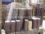 上海市水泥仿树桩防护栏施工安装 厂家直销长期供应
