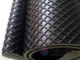 pvc菱形纹输送带,环形大方格传送带,砂光机黑色皮带