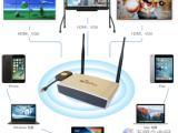 支持HDMI,VGA接口可与投影仪相连的无线智能会议系统