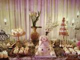 深圳彩虹蛋糕-深圳婚礼蛋糕-英伦太妃