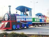 一拖三观光电动小火车游艺设施生产厂家 认准菲菲象游乐