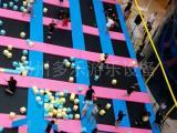 跳床蹦床 专业设计 大型室内游乐设施 海洋球池