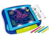 小孩早教益智画画套装荧光笔写字板涂鸦描绘荧光板