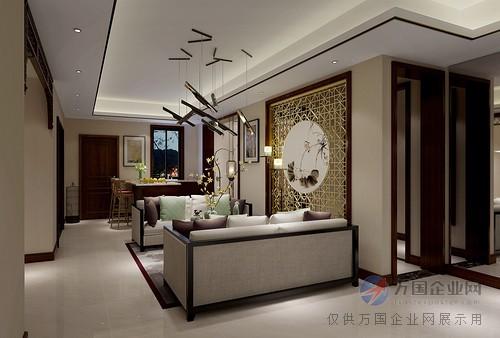 别墅鸿郡-上海现代新中式别墅装修-汉斯v别墅事吗好适电梯多美远洋图片